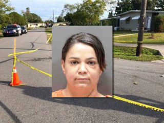 Mom arrested in fight at school bus stop
