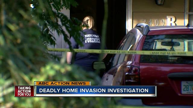Police investigate deadly home invasion