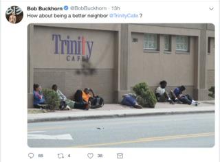 Mayor uses social media to criticize non-profit
