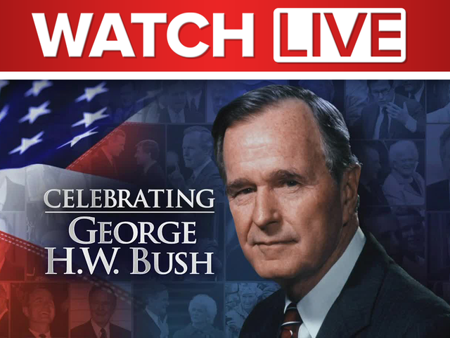 WATCH LIVE: A nation's farewell to former President George