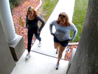 Women caught on video stealing packages