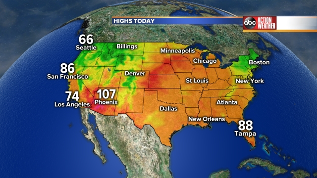 National Highs Today